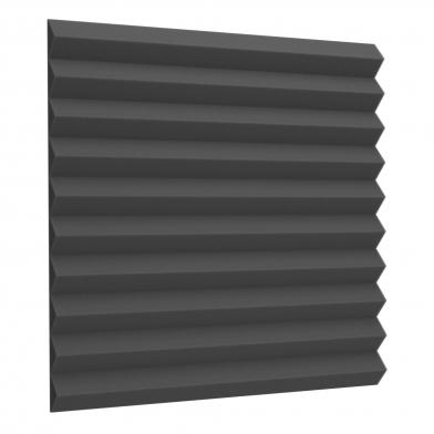 Купить акустический поролон ecosound пила 30мм 50х50см черный графит по низкой цене