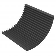 Акустический поролон Ecosound Пила 50мм 1х1м черный графит