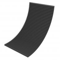 Акустический поролон Ecosound Пила 50мм 2х1м черный графит