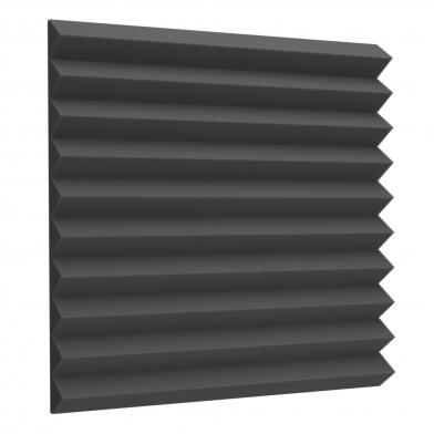 Купить акустический поролон ecosound пила 50мм 50х50см черный графит по низкой цене