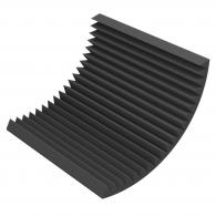Акустический поролон Ecosound Пила 70мм 1х1м черный графит