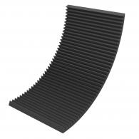 Акустический поролон Ecosound Пила 70мм 2х1м черный графит