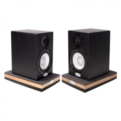 Купить подставки под акустические мониторы или сабвуффер ecosound acoustic stand pro. 53 мм 30х20 см  цвет черный графит по низкой цене