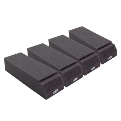 Купить подставки под акустические мониторы ecosound acoustic stand(4 шт) 70 мм 30х10 см  цвет черный графит по низкой цене