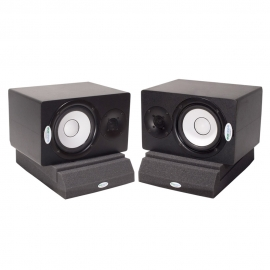 Подставки под акустические мониторы Ecosound Acoustic Stand XL(2 шт) 70 мм 30х21 см  Цвет черный графит