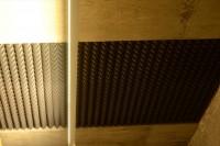 Акустический дизайн и акустическая коррекция студия звукозаписи акустическим поролоном Пирамида
