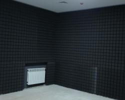 Шумоизоляция студии звукозаписи акустическими панелями