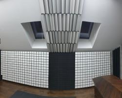 Шумоизоляция студии для игры на ударной установке акустическими панелями