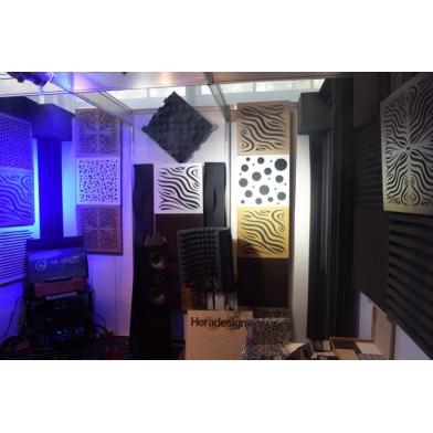 Купить акустическая панель ecosound chimera f rosewood 50x50см 53мм цвет коричневый по низкой цене