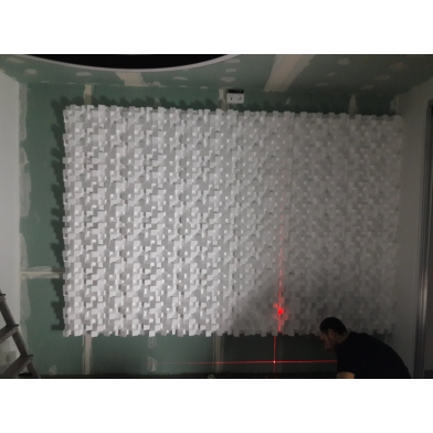 Купить акустический диффузор-рассеиватель ecosound ecodiff foam black 150мм,50х50 см цвет черный по низкой цене