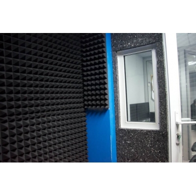 Купить акустическая плита ecosound macsound prof толщиной 5мм 1мх1м цвет графитно-черный по низкой цене