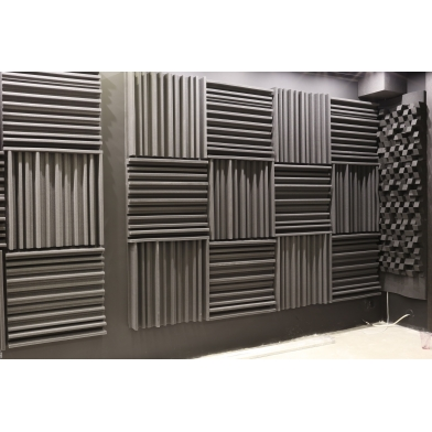 Купить панель из акустического поролона ecosound manhattan mini. 100мм 50х50см цвет черный графит по низкой цене