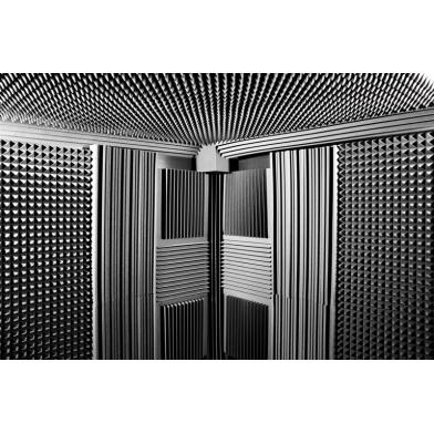 Купить панель из акустического поролона ecosound пирамида mini 30мм 0,5х0,5м черный графит по низкой цене
