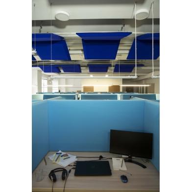 Купить акустическая ширма для офисных столов  колл центров настольная ecosound table 1000x400 по низкой цене