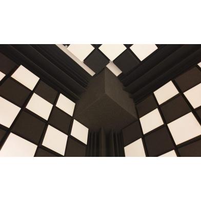 Купить бас ловушка ecosound куб угловой 25х25х25 см цвет черный графит по низкой цене