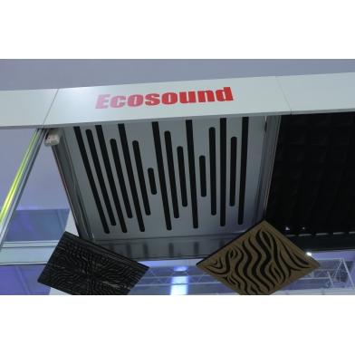 Купить акустическая панель ecosound ecowave cream 50х50 см 73мм светлый  дуб по низкой цене