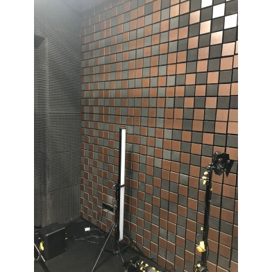 Купить акустическая панель ecosound tetras acoustic wood cream 50x50см 73мм цвет светлый дуб по низкой цене