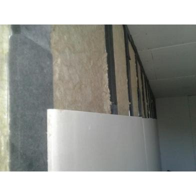 Купить акустическая минеральная вата acoustic wool sonet p 100мм-1мх0,6м 80 кг/м3, (2,4 м 2 /упак.) цвет светло-желтый по низкой цене