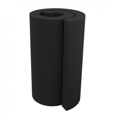 Купить акустический поролон ecosound ровный 2х1м 100мм черный графит по низкой цене
