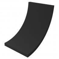 Акустический поролон Ecosound ровный 2х1м 100мм черный графит