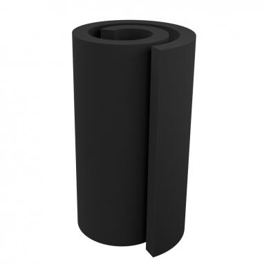Купить акустический поролон ecosound ровный 2х1м 70мм черный графит по низкой цене