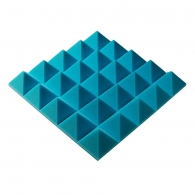 Панель из акустического поролона пирамида Ecosound Pyramid Gain Blue 70 мм.45х45см цвет синий