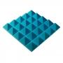 Превью Панель из акустического поролона пирамида Ecosound Pyramid Gain Blue 70 мм.45х45см цвет синий
