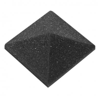 Купить акустический поролон ecosound пирамида 30мм micro, 5х5см цвет черный графит по низкой цене