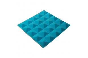 Панель из акустического поролона пирамида Ecosound Pyramid Gain Blue 30 мм.45х45см цвет синий
