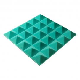Панель из акустического поролона пирамида Ecosound Pyramid Gain Green 50 мм.45х45см цвет зелёный