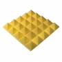 Превью Панель из акустического поролона пирамида Ecosound Pyramid Gain Yellow 70 мм.45х45см