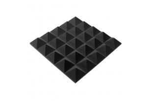 Панель из акустического поролона пирамида Ecosound Pyramid Gain Black 50 мм.45х45см цвет черный графит