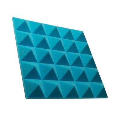 Купить панель из акустического поролона пирамида ecosound pyramid gain blue 50 мм.45х45см цвет синий по низкой цене