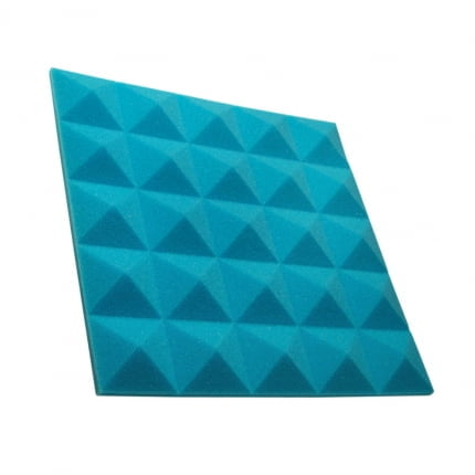 Превью Панель из акустического поролона пирамида Ecosound Pyramid Gain Blue 30 мм.45х45см цвет синий