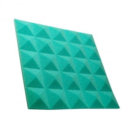 Превью Панель из акустического поролона пирамида Ecosound Pyramid Gain Green 30 мм.45х45см цвет зелёный