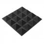 Купить акустический поролон ecosound пирамида 30мм micro, 20х20см цвет черный графит по низкой цене