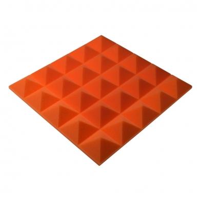 Панель из акустического поролона пирамида Ecosound Pyramid Gain Orange 50 мм.45х45см цвет оранжевый