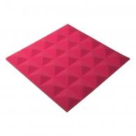 Панель из акустического поролона пирамида Ecosound Pyramid Gain Rose 30 мм.45х45см цвет розовый