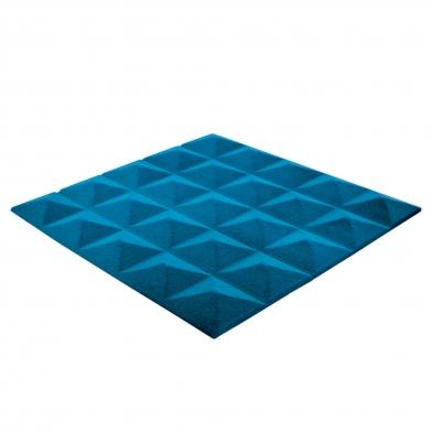 Купить панель из акустического поролона ecosound пирамида pyramid velvet blue 250х250х25мм цвет синий по низкой цене