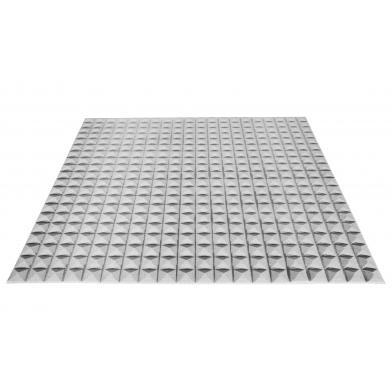 Купить акустический поролон ecosound пирамида 20мм 1мх1м цвет серый по низкой цене