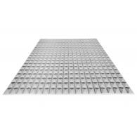 Акустический поролон Ecosound пирамида 15мм 1мх1м Цвет серый
