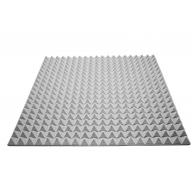 Акустический поролон Ecosound пирамида 30мм 1мх1м Цвет серый