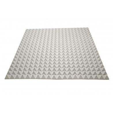 Купить акустический поролон ecosound пирамида 50мм 1мх1м цвет серый по низкой цене