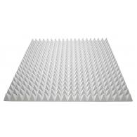 Акустический поролон Ecosound пирамида 70мм 1мх1м Цвет серый