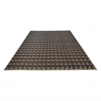Купить акустический поролон ecosound пирамида 15мм 1м х 1м цвет черный графит по низкой цене