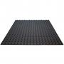 Купить акустический поролон ecosound пирамида 25мм 1м х 1м цвет черный графит по низкой цене