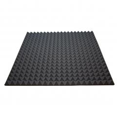 Акустический поролон Ecosound пирамида 30мм 1мх1м Цвет черный графит