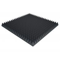 Акустический поролон Ecosound пирамида 90мм 1мх1м Цвет черный графит