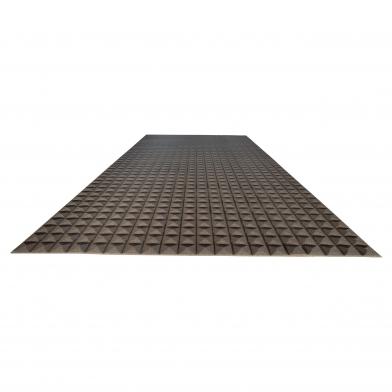 Акустический поролон Ecosound пирамида 15мм 2м х 1м Цвет черный графит