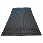 Купить акустический поролон ecosound пирамида 30мм 2мх1м цвет черный графит по низкой цене